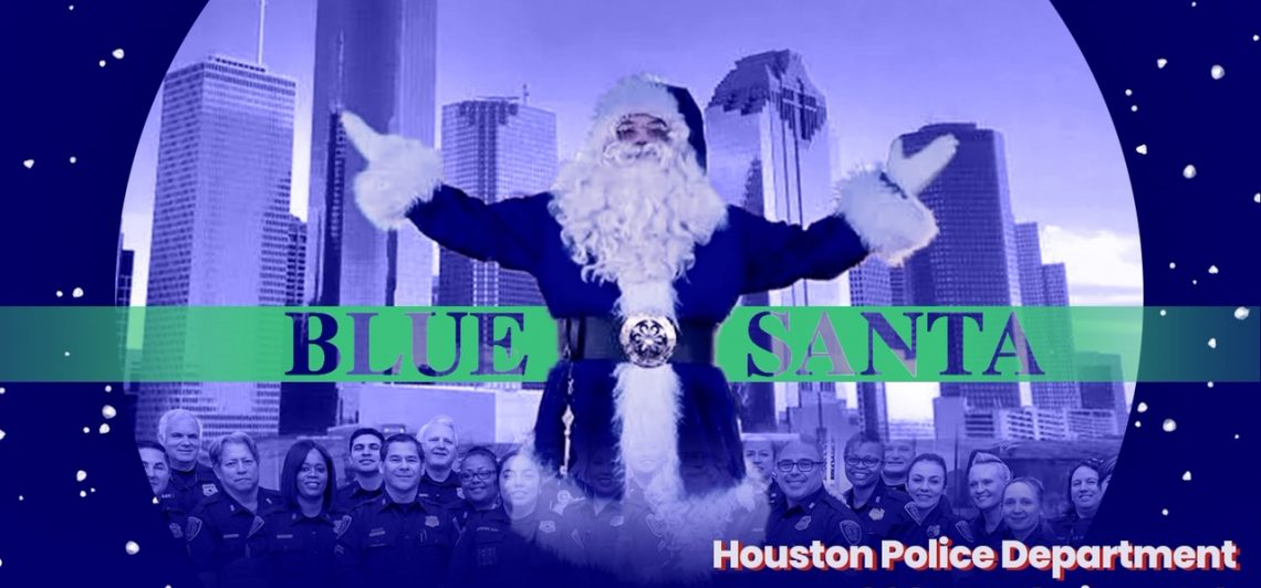 Blue Santa Toy Drive with HPD on Dec 7