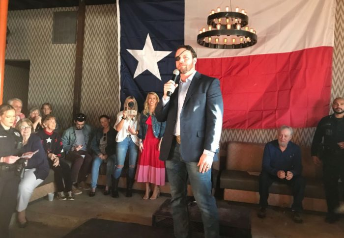 The Texan: Rep. Dan Crenshaw Kicks Off Re-election Bid to Enthusiastic Crowd
