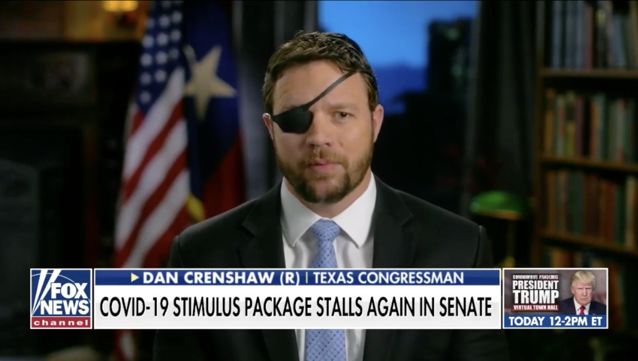 Dan Crenshaw Responds to Democrats Blocking Stimulus Package