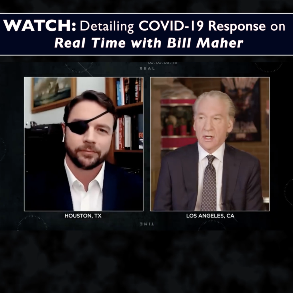 WATCH: Detailing COVID-19 Response on Real Time with Bill Maher