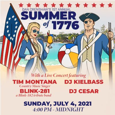 Celebrate 4th of July with Dan Crenshaw